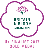 Britain in Bloom - UK Finalist 2017 Gold Medal
